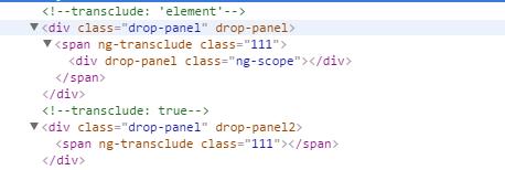 angularJs关于指令的一些冷门属性详解